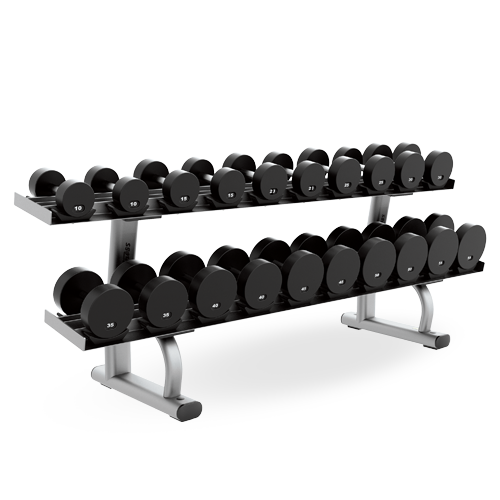 Free Weights Storage: Olympic Bench Weight Storage (SOBWS)