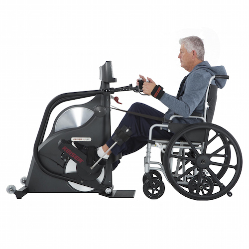 Keiser m wtbt wheelchair accessible total body trainer