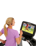 Discover-SE3-Console-Treadmill-CloseUp-Female-running-with-Wireless-Headphones-TVsoccer-252 copy500