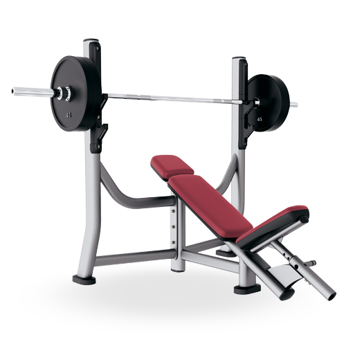 Olympic Incline Bench Soib Life Fitness