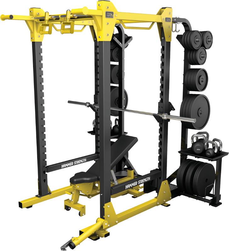Power Rack - Life Fitness