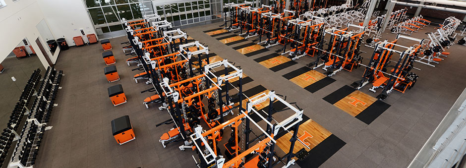 Knoxville, TN - Weight Room Facilities