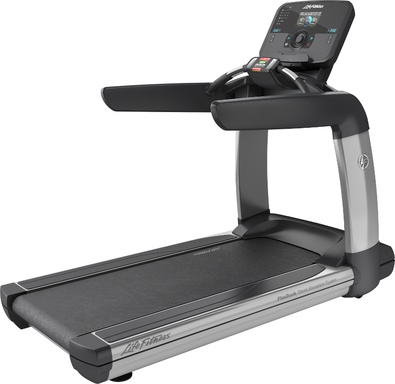 Elevation series treadmill with explore life fitness for Gym life fitness