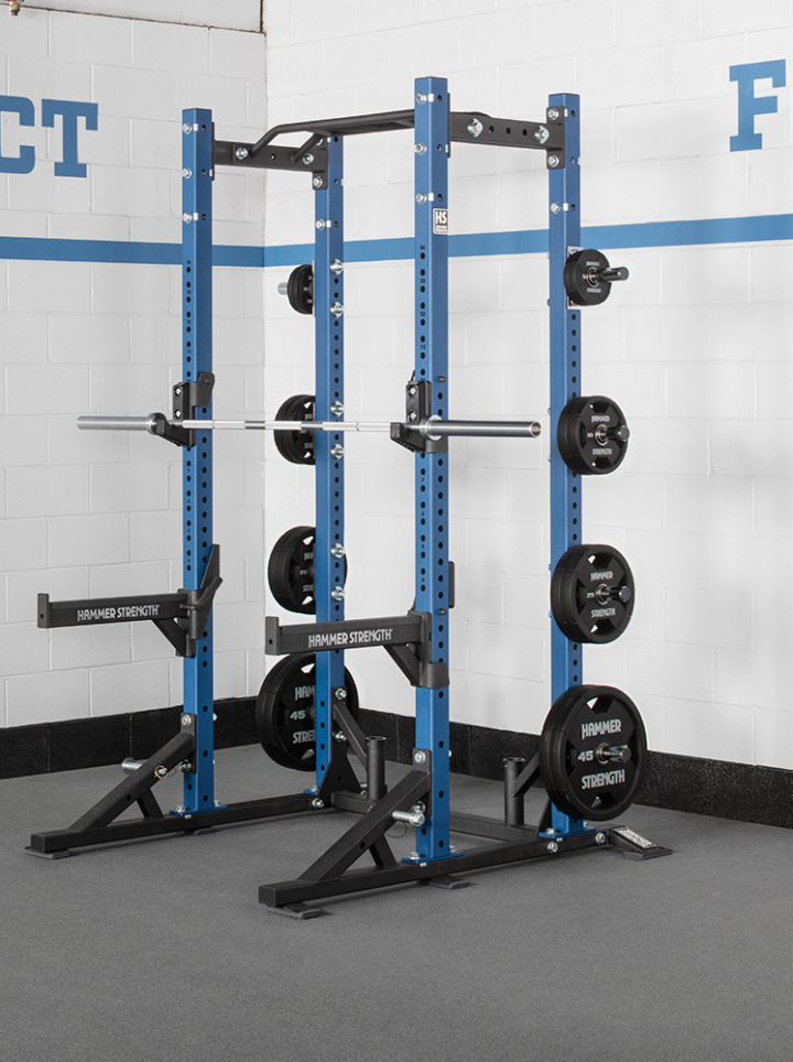 Half Rack At Hr Life Fitness