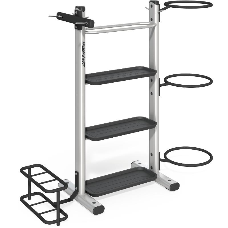 Signature Series Accessory Storage Rack Life Fitness